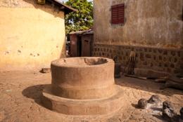 Africa;Architecture;Benin;Inner-Courtyard;Kaleidos;Kaleidos-images;Tarek-Charara;Water-well