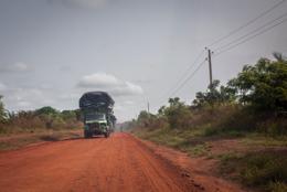 Africa;Benin;Cargo;Kaleidos;Kaleidos-images;Lorries;Lorry;Tarek-Charara;Trail;Trucks