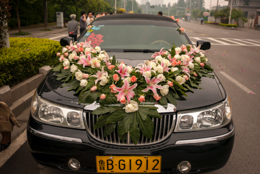 Car;China;Chine;Kaleidos;Kaleidos-images;Limousine;Mariages;Nanjing;Nankin;Tarek-Charara;Voiture;Weddings