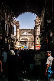 Bazaar;Bazar;Crowd;Foule;Homme;Kaleidos;Kaleidos-images;Man;Middle-East;Moyen-Orient;Naher-Osten;Near-East;Proche-Orient;Souks;Souq;Souqs;Syria;Syrie;Tarek-Charara